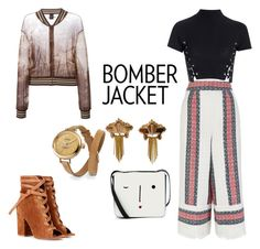 """""""JUMPER BUMPER"""" by sahelirima on Polyvore featuring Sea, New York, Glamorous, Lulu Guinness, Gianvito Rossi, Jean-Paul Gaultier, CORO, Shinola, women's clothing, women and female"""