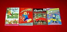 4 Chapter Books Captain Awesome Easter Nate the Great Zapato Power Grades 2-3-4