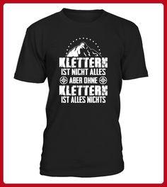 Ohne Klettern ist alles nichts - Läufer shirts (*Partner-Link)