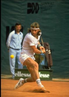 Bjorn Borg - I used to love watching him!