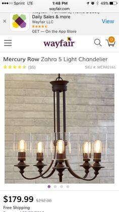 Rustic Thomas Edison light bulb chandelier