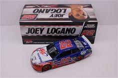 Joey Logano Diecast 22 2017 AAA 1/24 NASCAR | DiecastCarsNow.com