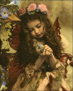 Butterfly Evangeline the children's symbol of caring and love. Ivet H. P. (c)