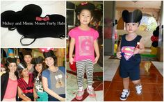 Athena Miel's Balloons, Bubbles and Party Needs: Mickey and Minnie Mouse Theme Birthday Party