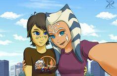 Barriss and Ahsoka