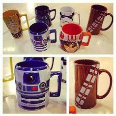 Star Wars mugs.