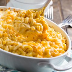 Super Creamy Mac & Cheese from Spicy Southern Kitchen
