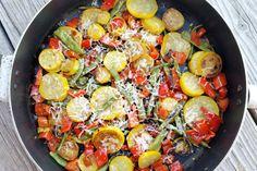 Garlic Sauteed Veggies