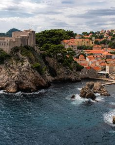 Most of the King's Landing scenes in Game of Thrones were shot in the historic parts of Dubrovnik, Croatia.
