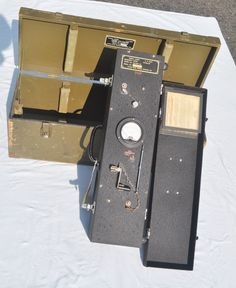 Signal Corps Frequency Meter TS-69A AP in CY-140-AP box