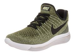 size 40 ecd5d de543 Nike Women s Lunarepic Low Flyknit 2 Palm Green Black Vapor Green Running  Shoe 10 Women US, Size  10 Medium