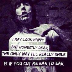 Chelsea Smile ♥ -Bring Me the Horizon