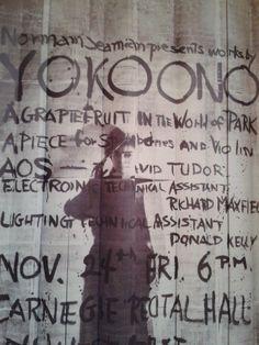 Yoko Ono Fluxus