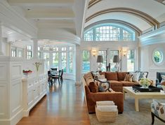 Classical Shingle - traditional - family room - boston - Jan Gleysteen Architects, Inc Dream House Plans, My Dream Home, Dream Homes, Huge Houses, Design Your Own Home, Boho Home, Décor Boho, Bohemian Decor, Family Room Design