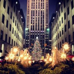 Experience Christmas In New York City at Rockefeller Center.