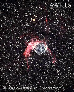 What's a Wolf-Rayet star, and how did it create that spherical bubble and sweeping arc? A Wolf-Rayet star is a star that originated with a mass over 40 times that of our Sun. An extremely hot, luminous star, it has since expelled shells of material through its strong stellar wind which could account for the bubble shaped nebula that surrounds it. But astronomers are unsure how the central Wolf-Rayet created both the bubble and the arc seen above