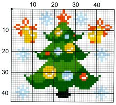 Thrilling Designing Your Own Cross Stitch Embroidery Patterns Ideas. Exhilarating Designing Your Own Cross Stitch Embroidery Patterns Ideas. Cross Stitch Christmas Ornaments, Xmas Cross Stitch, Cross Stitch Charts, Cross Stitching, Cross Stitch Embroidery, Embroidery Patterns, Christmas Tree, Christmas Cross Stitches, Hand Embroidery