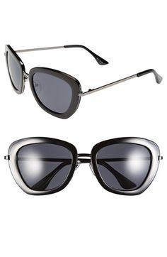 d48de70ed9 Isaac Mizrahi New York 53mm Geometric Sunglasses