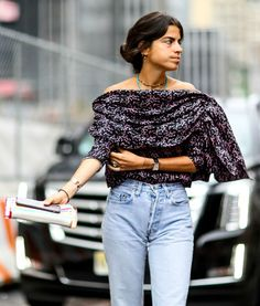 Street Style - Fall Outfit Inspiration from New York Fashion Week 2015 | @StyleCaster