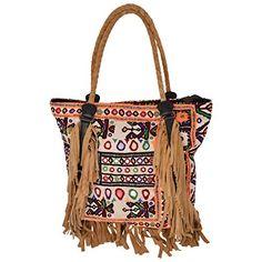 #vintagehandicrafts Multi Color Cotton Shoulder Bag - (40 cm * 34 cm * 15 cm) http://www.amazon.in/dp/B00QLP32SK/ref=cm_sw_r_pi_dp_sYJPub1NF6FEN