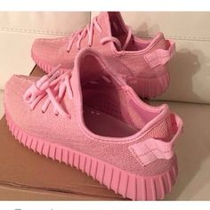 Pink Yeezys Pink Yeezys. Not auth. Price is firm. No trades Shoes Sneakers
