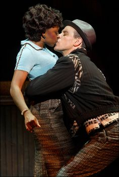 Broadway's Memphis - Montego Glover and Adam Pascal