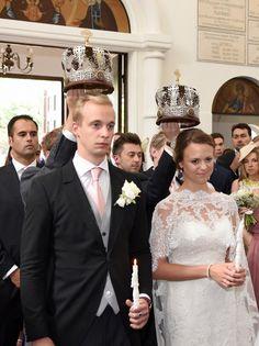 Juin 2017 : mariage du prince Dimitri Galitzine et d'Alexandra Pollitt. Dimitri est le fils de l'archiduchesse Maria-Anna, petite-fille de l'empereur Charles 1er et de l'impératrice Zita d'Autriche