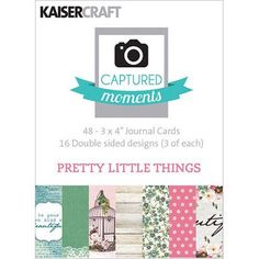 Captured Moments Double-Sided Cards, 3 inch x 4 inch, 48pk, Assorted