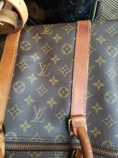Before pic of Louis Vuitton Keepall Bandouliere 55