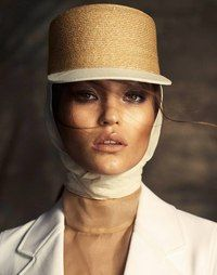 Agata Danilova for fashion tv Safari Chic, Out Of Africa, Fashion Tv, Safari Fashion, Minimal Fashion, Headgear, Editorial Fashion, Portrait Editorial, Fashion Photography
