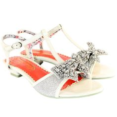 Womens Poetic Licence Abbie Road Silver Diamante Sandals: Amazon.co.uk: Shoes & Bags