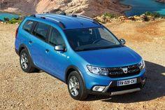 2017 Dacia Logan MCV Stepway Takes the Budget Estate One Step Further