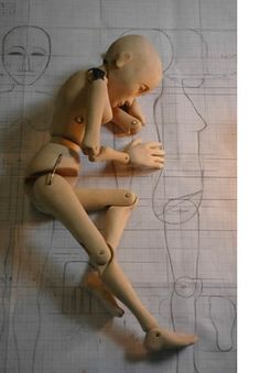 Week 2 #1 Some conflicts that already exist in the plot is that Nora is being controlled by Krogstad. This image shows some drawings behind that appear strong in comparison to the manikin that symbolize how Nora has to appear in front of society even if she is torn inside.