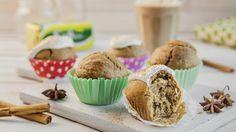 I disse sunne muffinsene har vi gjenskapt smaken av chai latte. Resultatet er saftige munnfuller med deilig kryddersmak. Oppskriften finner du her.