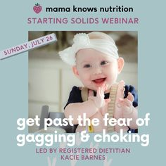 Starting Solids, Baby Led Weaning, Campaign, Design