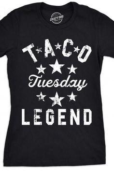 Funny Shirts Women, Funny Tshirts, T Shirts For Women, Dad To Be Shirts, Cool T Shirts, Taco Humor, Taco Shirt, Taco Party, Making Shirts