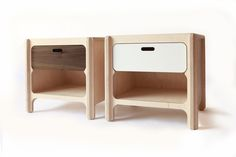 bull bedside table american walnut and almond sand web
