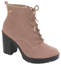 81987ba56 116 melhores imagens de Botas - Boots | Bootie boots, High heels e ...
