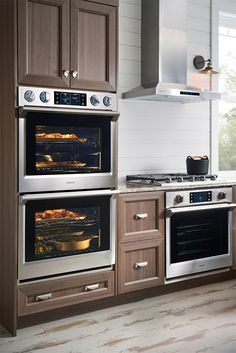 Discover the latest features and innovations available in the 5.1 cu. Ft. Built-In Double Wall Oven with Steam Cook. Find the perfect Wall Ovens for you!