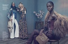 Sharif Hamza for Vogue Russia
