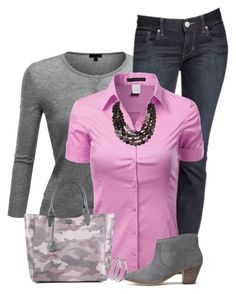 """Boot Jeans"" by daiscat ❤ liked on Polyvore featuring Doublju, Express, Ela and H by Hudson"