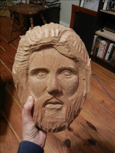Wood Carving Face