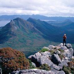 Western Arthurs. Tourism Tas.