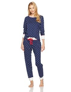 online shopping for Mae Mae Women s Sleepwear Vintage Thermal Loose Fit Pajama  Set from top store. See new offer for Mae Mae Women s Sleepwear Vintage ... 55290839c