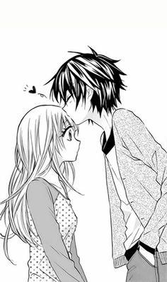-- Ore no Yome ni Nare yo manga boy and girl romance couple kiss Shoujo .– Ore no Yome ni Nare yo manga boy and girl romance couple kiss Shoujo …- - Manga Boy, Manga Anime, Couple Manga, Anime Love Couple, Cute Anime Couples, Anime Couples Sleeping, Anime Couples Hugging, Romantic Anime Couples, Cute Couple Drawings