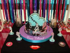 Awesome Monster High Party!  See more party ideas at CatchMyParty.com!  #partyideas #monsterhigh