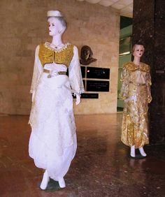 Costumes of Tirana & Elbasan, Lulzim Perati Collection, National Museum of History Exhibit, Tirana, Albania   by David&Bonnie