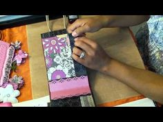 Completing my Paperbag Mini Album a la Kathy Orta - Part 1 of 2
