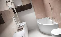 Offset-Corner-Bath-NANO-SPACE-SAVER-1500-x-750mm-INCL-PANEL-STAND