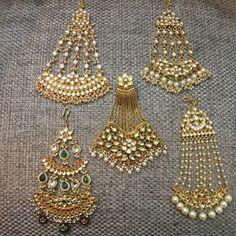 Fulfill a Wedding Tradition with Estate Bridal Jewelry Indian Jewelry Earrings, Head Jewelry, India Jewelry, Kerala Jewellery, Silver Jewelry, Pakistani Jewelry, Indian Wedding Jewelry, Bridal Jewelry, Indian Bridal